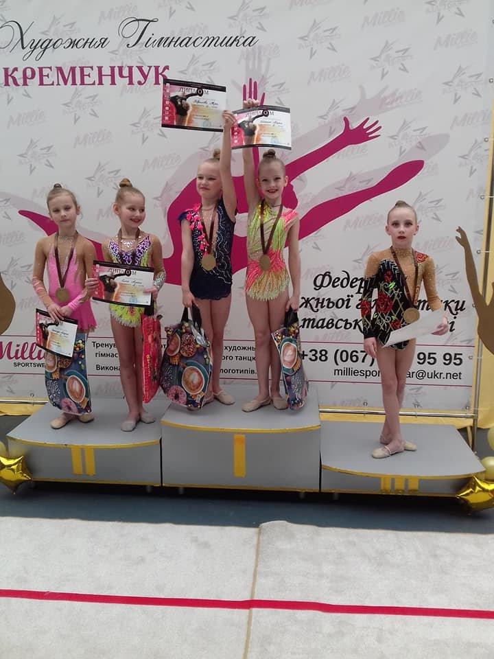 Каменские гимнастки успешно выступили на выездных соревнованиях, фото-3
