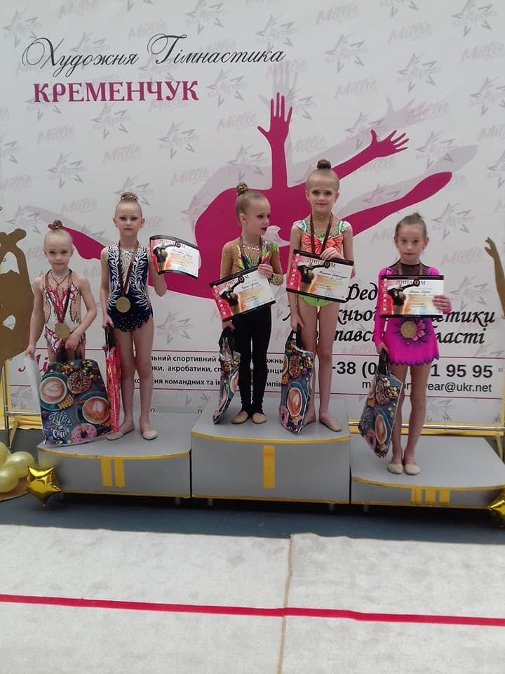 Каменские гимнастки успешно выступили на выездных соревнованиях, фото-7