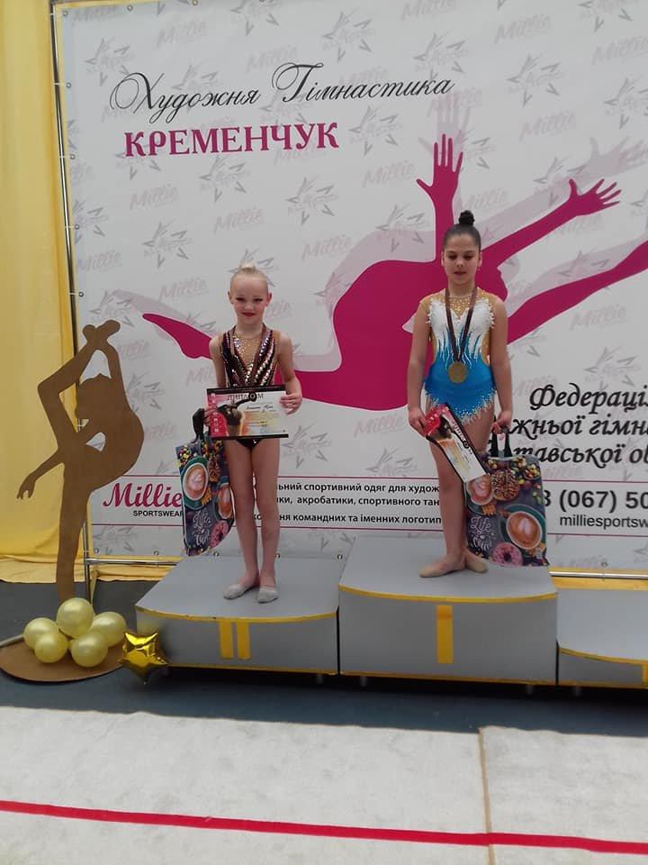 Каменские гимнастки успешно выступили на выездных соревнованиях, фото-8
