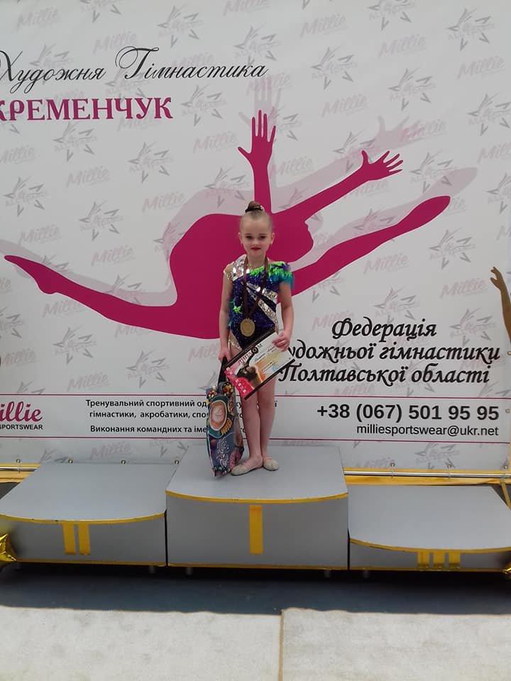 Каменские гимнастки успешно выступили на выездных соревнованиях, фото-5