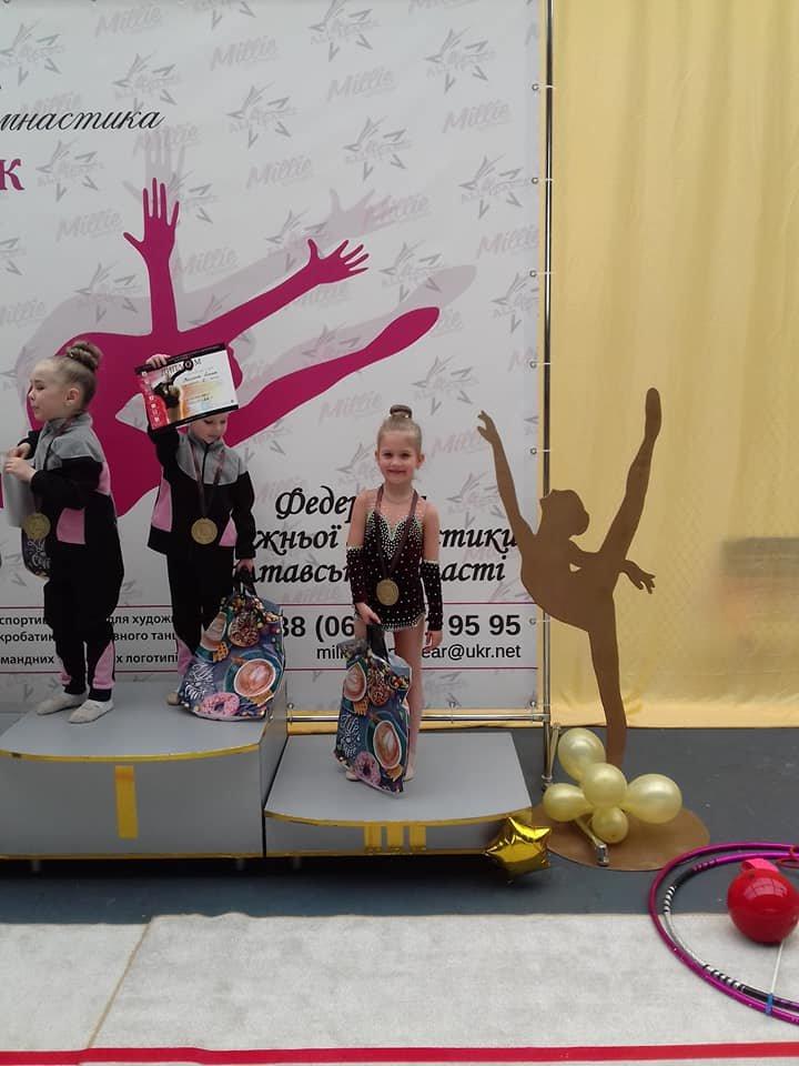Каменские гимнастки успешно выступили на выездных соревнованиях, фото-6