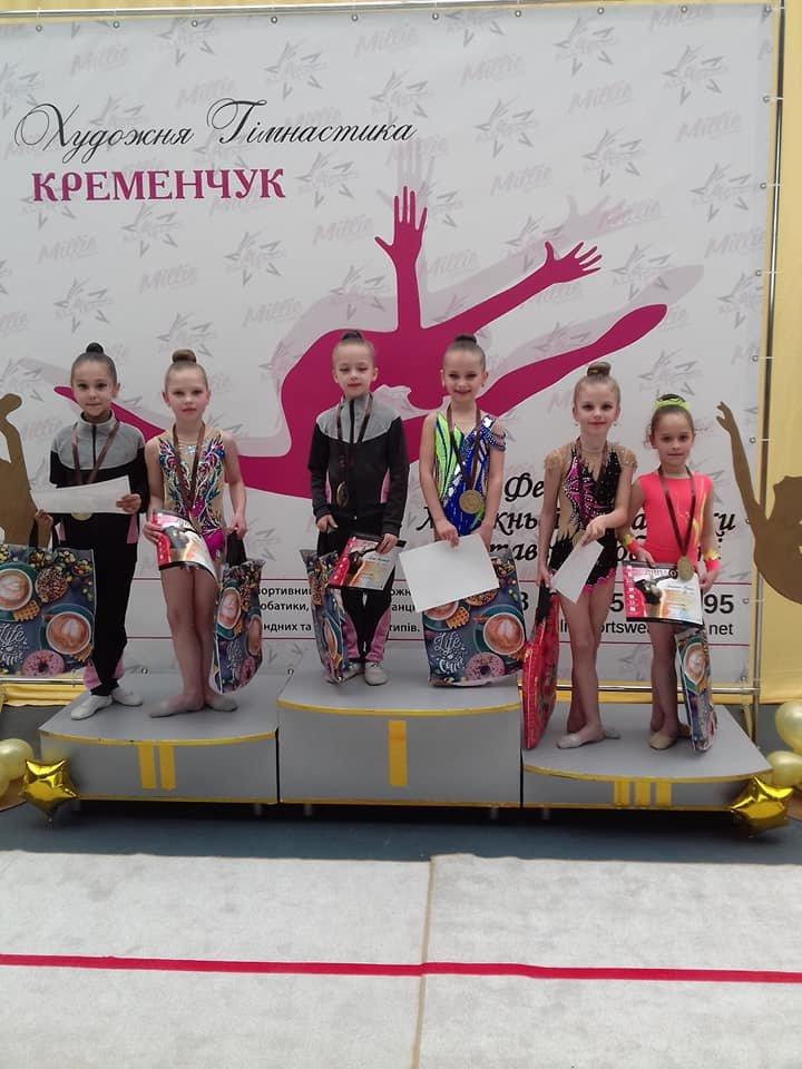 Каменские гимнастки успешно выступили на выездных соревнованиях, фото-2