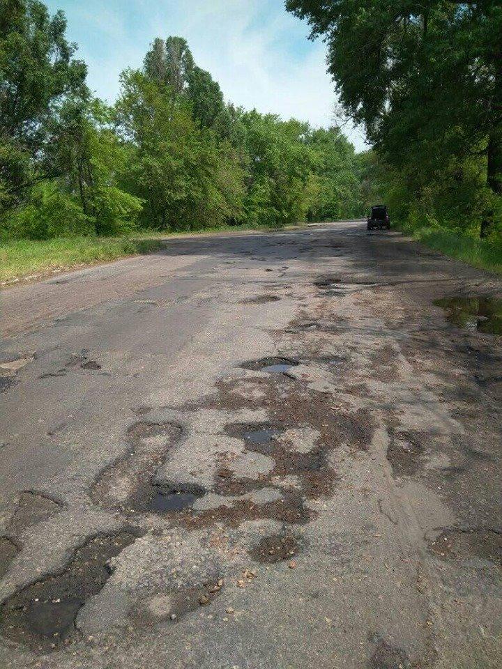 Глава села под Каменским заявил в прокуратуру о неудовлетворенном состоянии дорог, фото-1
