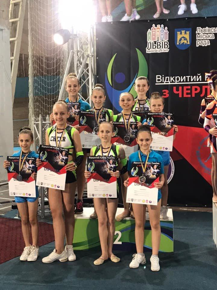 Каменские черлидеры привезли награды с турнира Lviv Open, фото-11