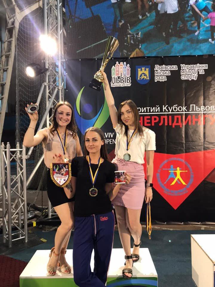 Каменские черлидеры привезли награды с турнира Lviv Open, фото-16