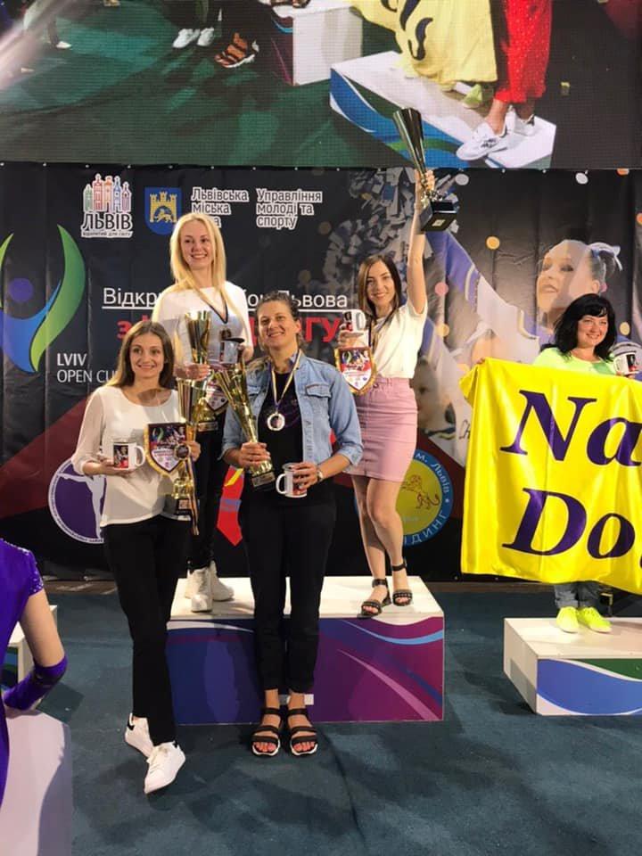 Каменские черлидеры привезли награды с турнира Lviv Open, фото-17