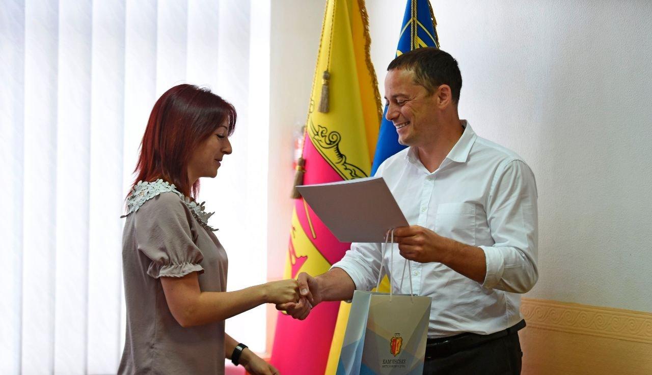 Журналистов Каменского поздравили с профессиональным праздником, фото-2