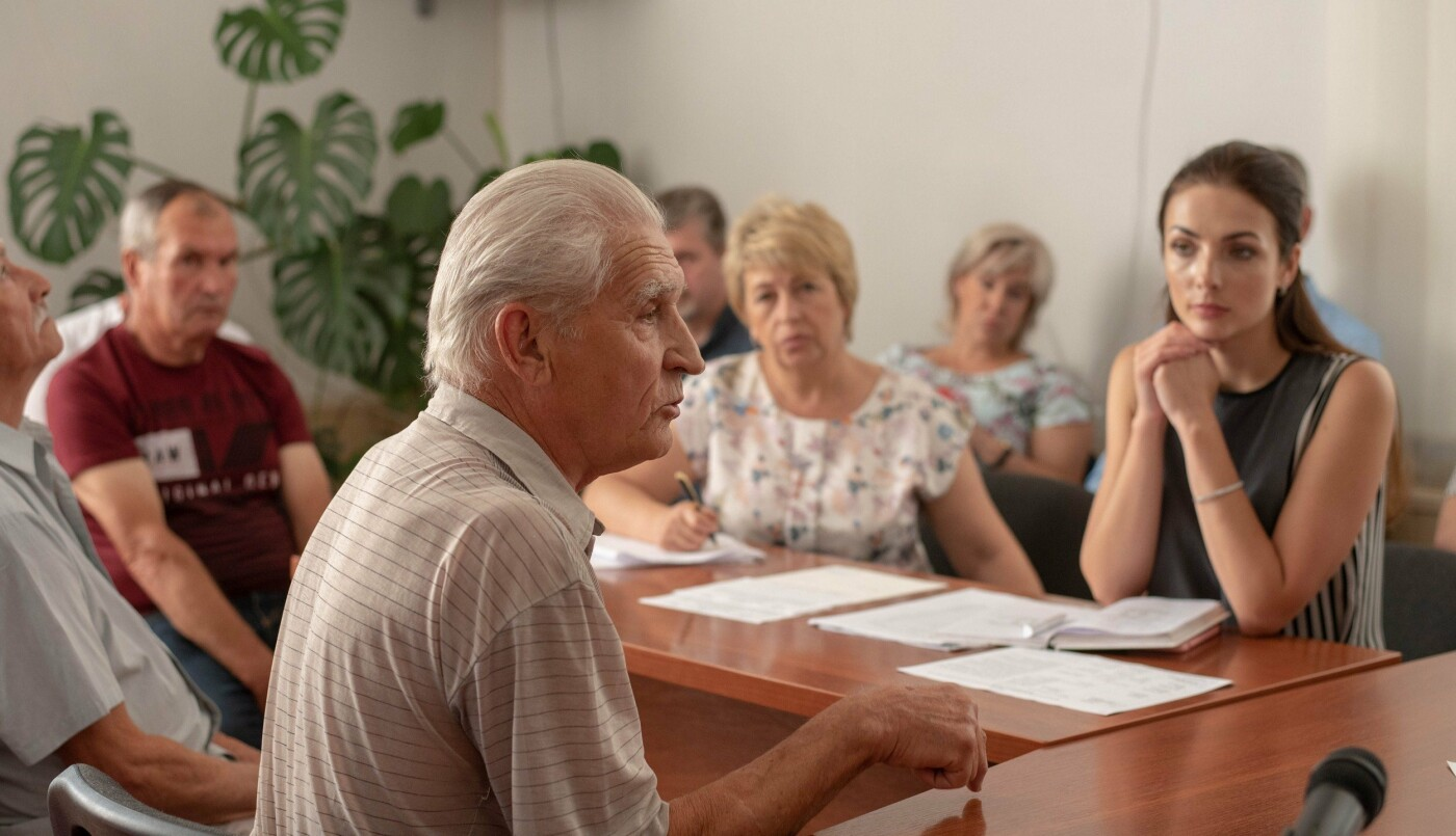 Каменчане пришли к мэру на прием по личным вопросам, фото-4