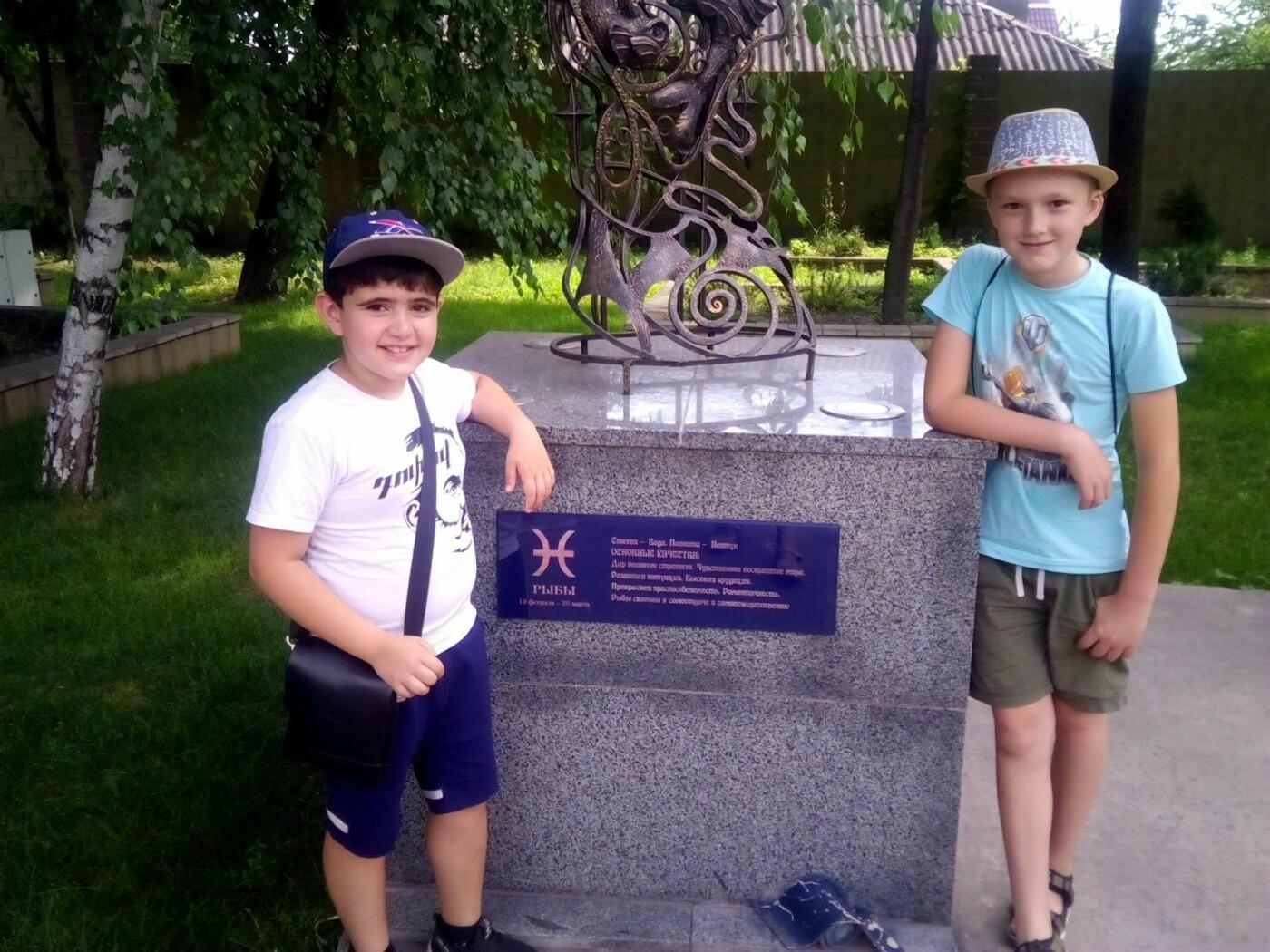 Каменским школьникам провели экскурсию центральным парком, фото-5