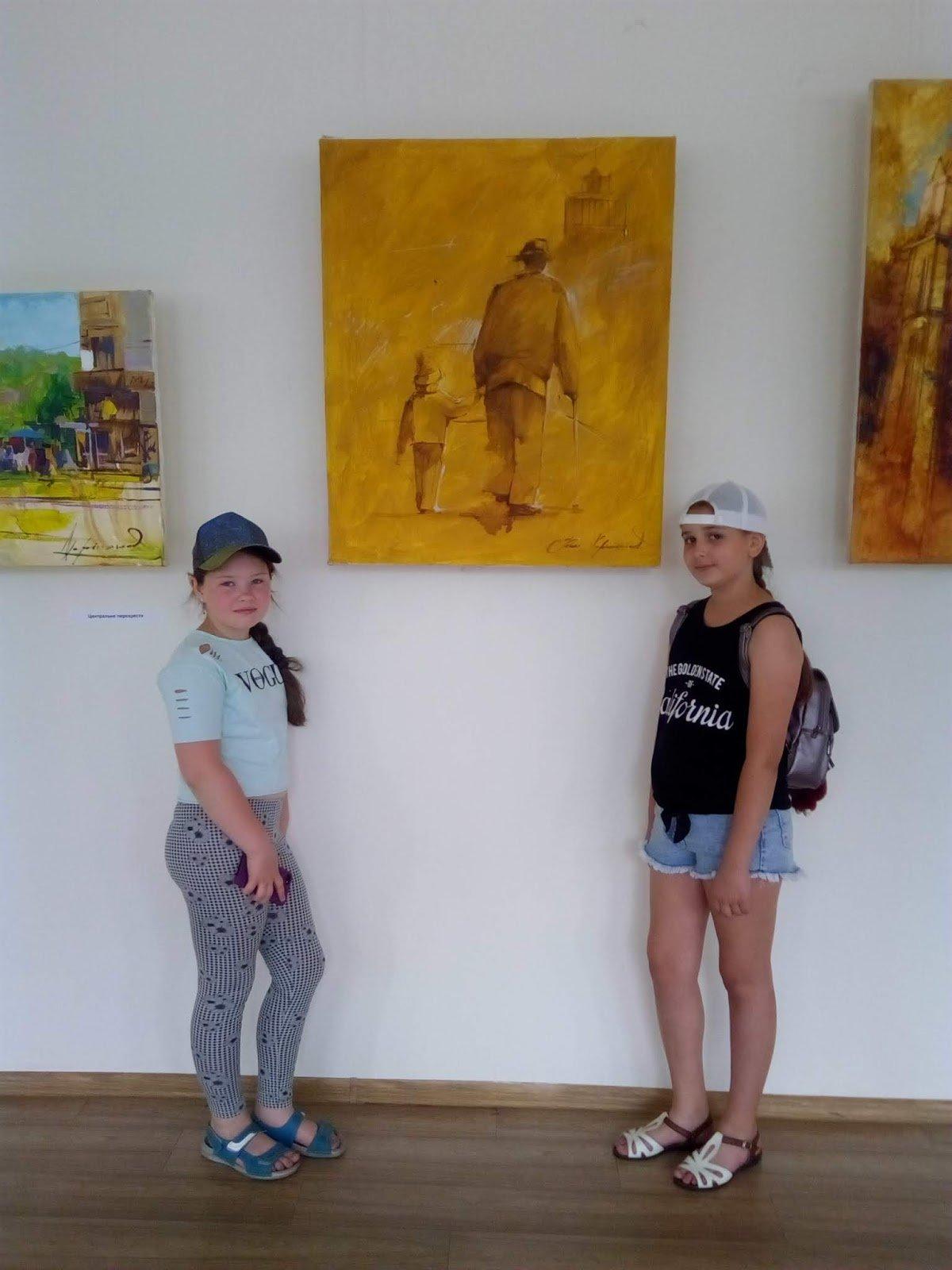Каменским школьникам провели экскурсию центральным парком, фото-6