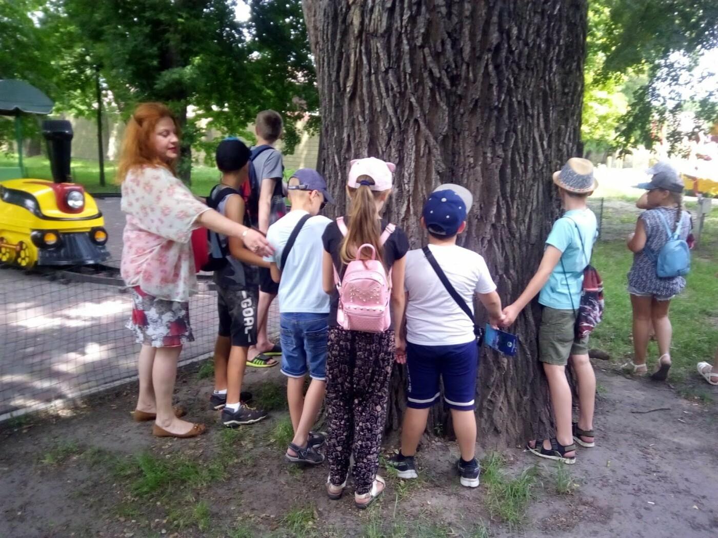 Каменским школьникам провели экскурсию центральным парком, фото-2