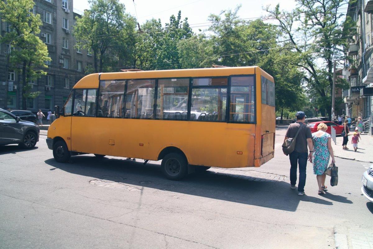 "В центре Днепра маршрутка переехала женщину на ""зебре"", фото-1"