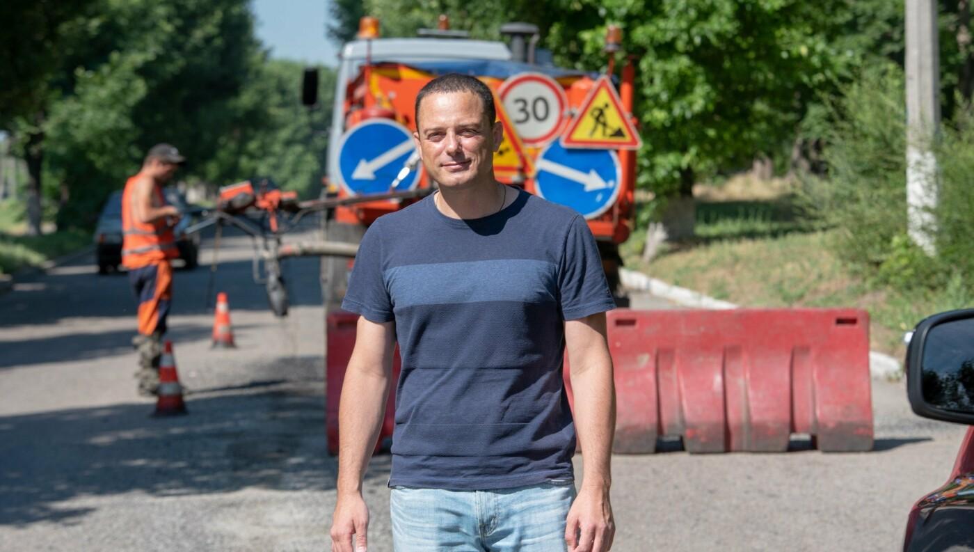 В Каменском продолжают ремонтировать дороги, фото-2