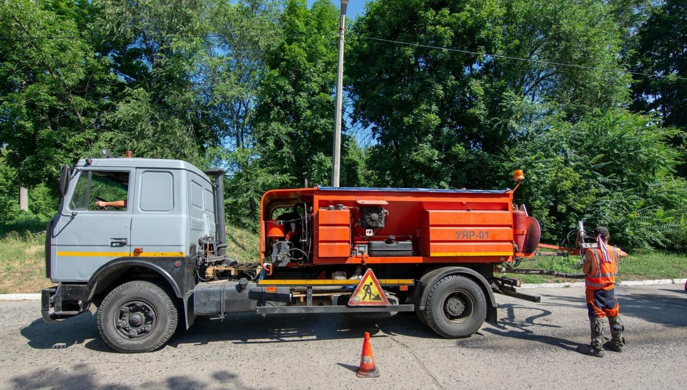 В Каменском продолжают ремонтировать дороги, фото-4