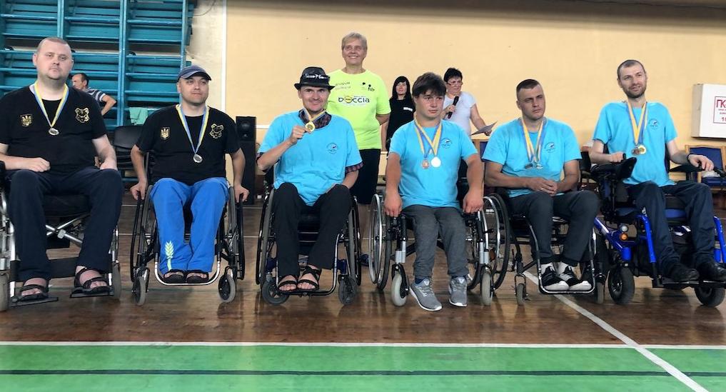 Каменчанин победил на чемпионате Украины по игре бочча, фото-3