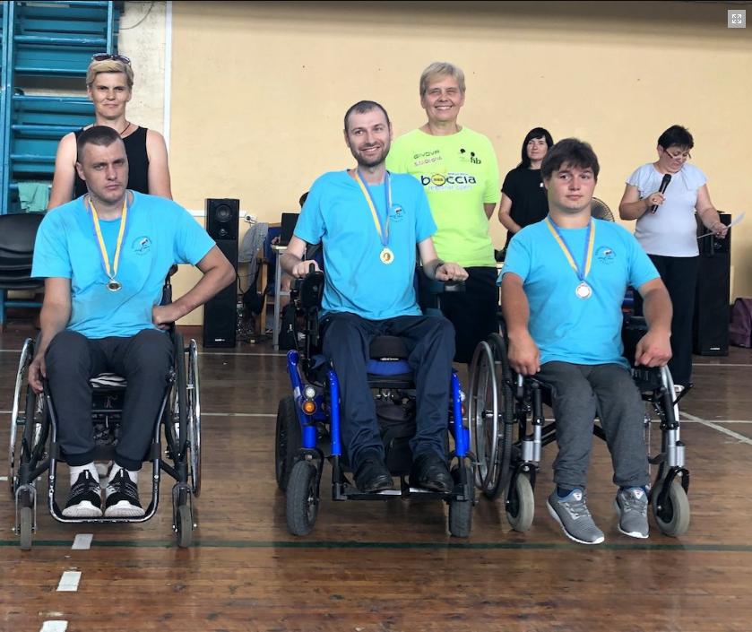 Каменчанин победил на чемпионате Украины по игре бочча, фото-5