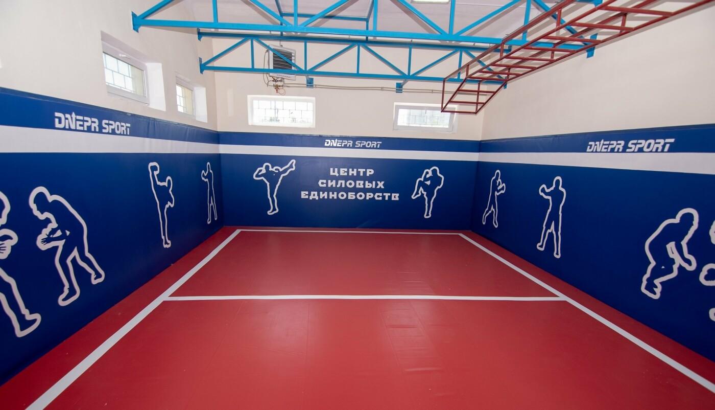 В трех школах Каменского строят мини-футбольные поля, фото-9