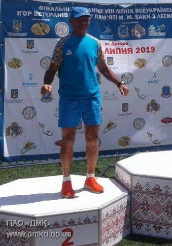 Каменчанин победил на ветеранских играх по легкой атлетике, фото-2