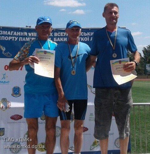 Каменчанин победил на ветеранских играх по легкой атлетике, фото-1