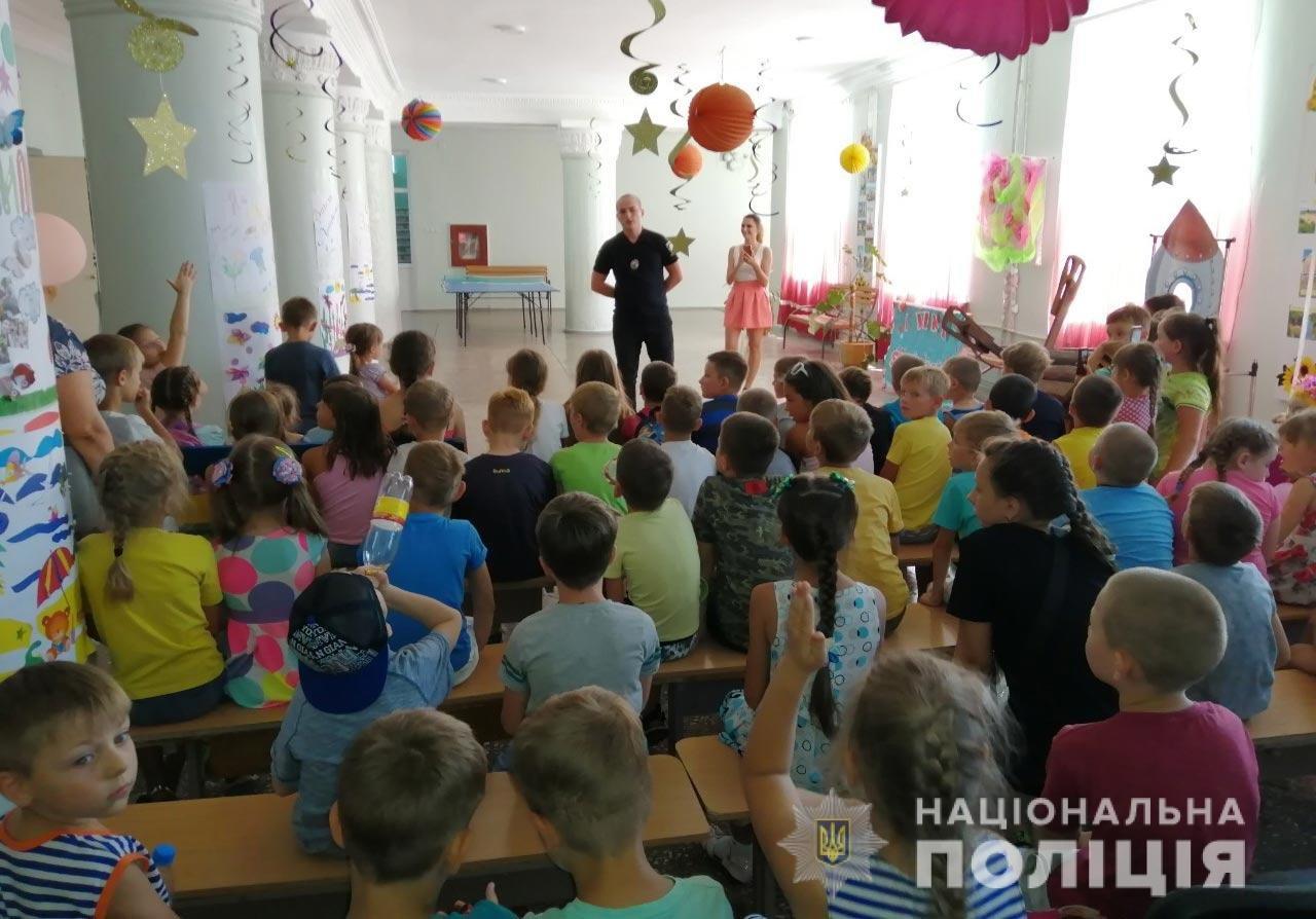 Полицейские Каменского помогали детям найти верные шаги в различных ситуациях , фото-1