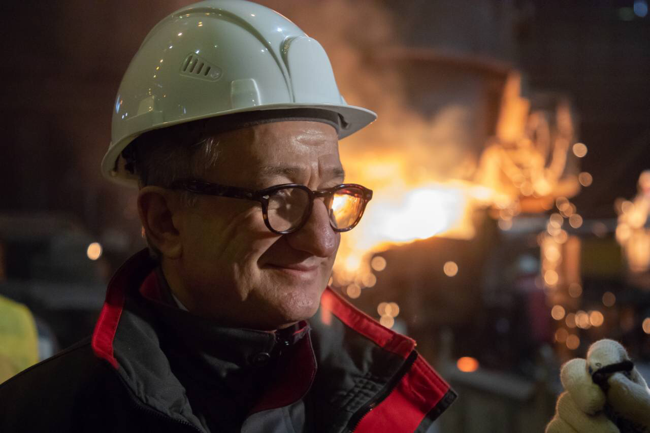 Сергей Тарута поздравляет каменчан с Днем металлурга, фото-1