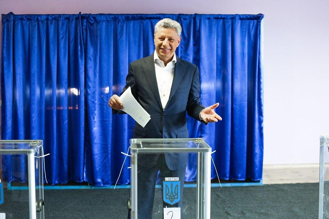 Юрий Бойко первым проголосовал за мир, фото-1