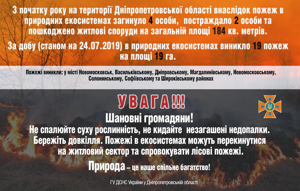 Горит экосистема: на Днепропетровщине за сутки произошло 19 пожаров, фото-2