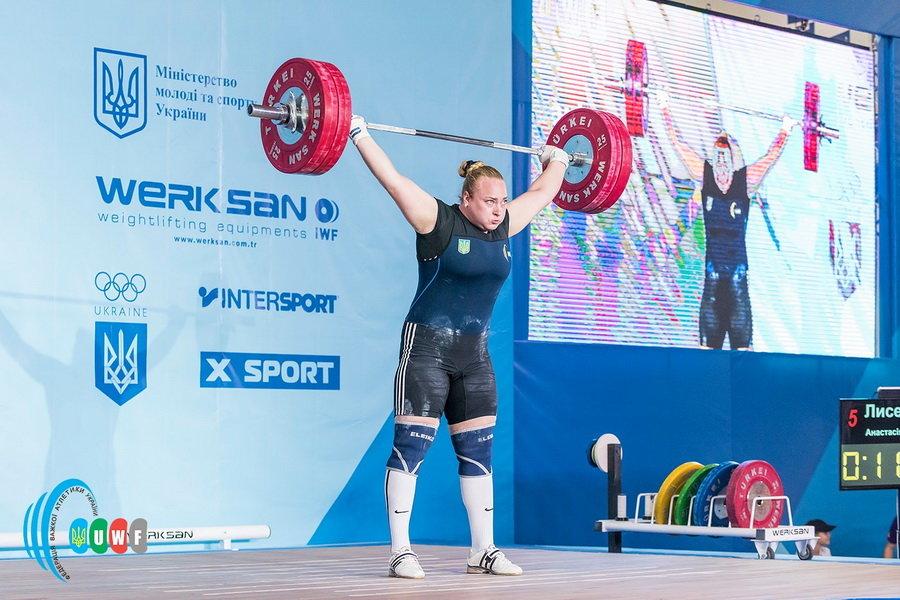 Каменчанка установила три рекорда на чемпионате Украины по тяжелой атлетике, фото-1