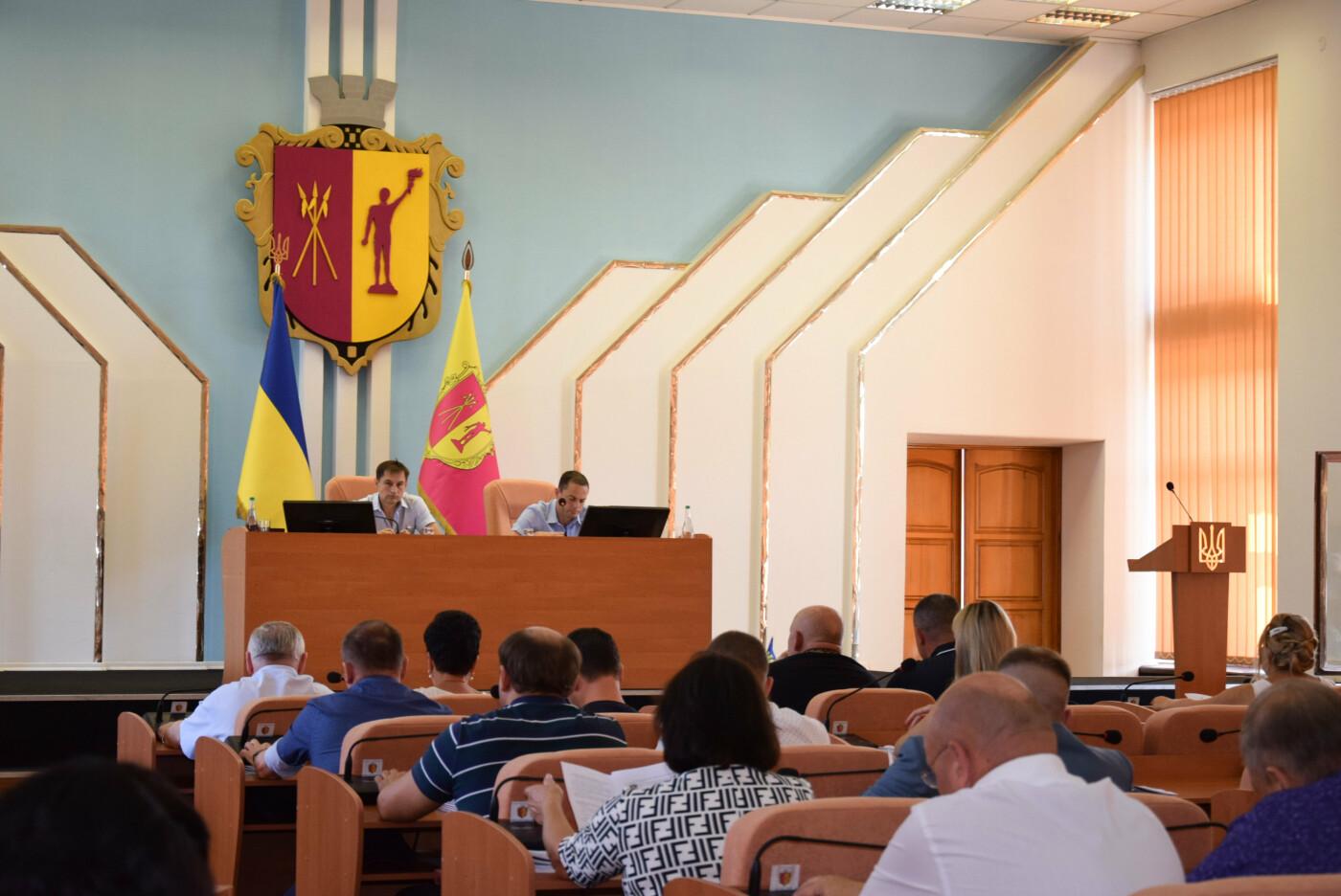 Городской транспорт, водоснабжение и отопление: в Каменском прошла очередная сессия горсовета, фото-11