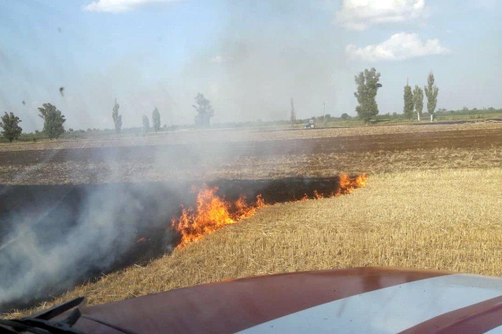 За прошедшие сутки на Днепропетровщине спасатели потушили 16 пожаров, фото-1
