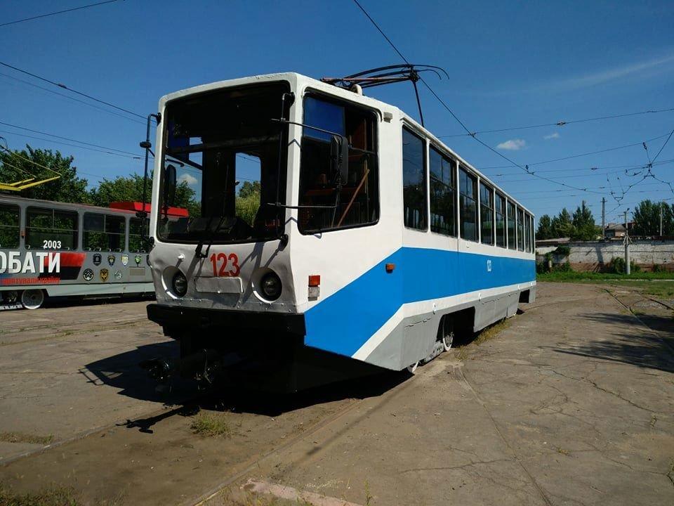 На трамвайные маршруты Каменского выйдут отремонтированные вагоны, фото-1