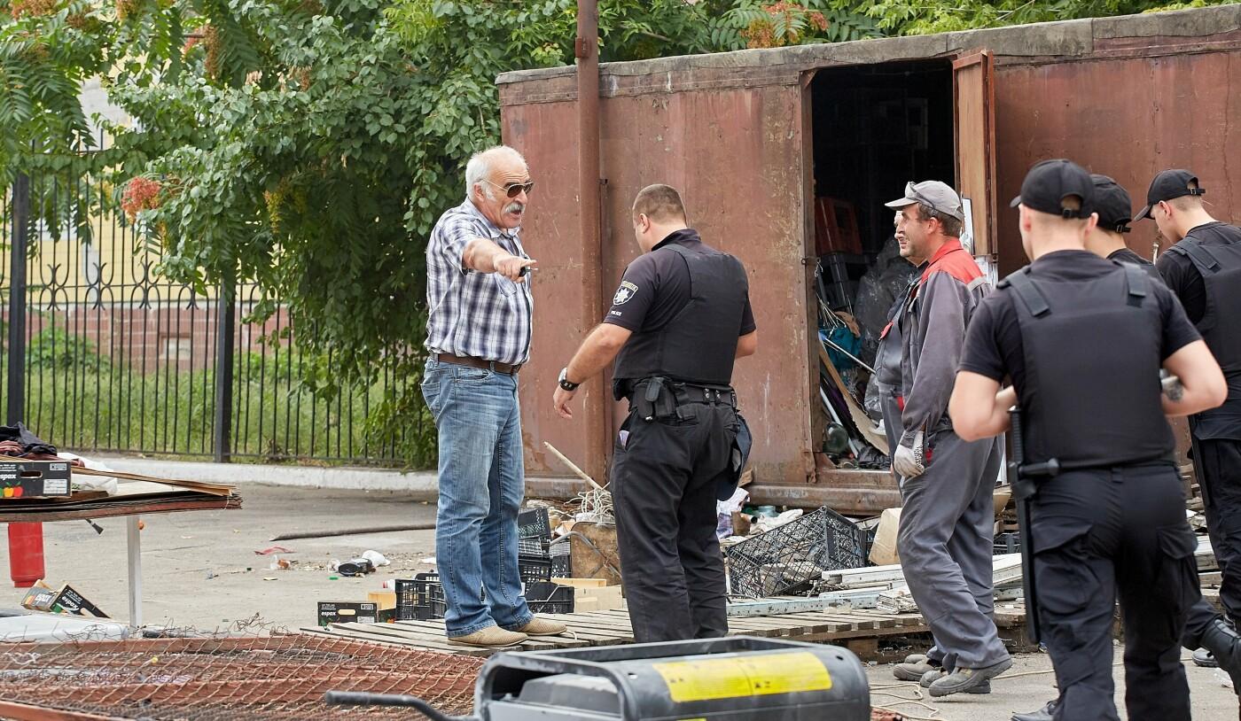 В Каменском продолжают сносить незаконные сооружения, фото-1