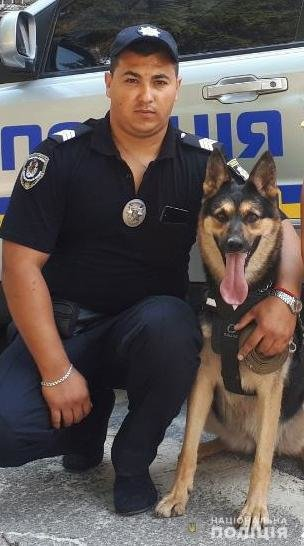 В Каменском служебный пес помог разыскать пропавшего ребенка, фото-1