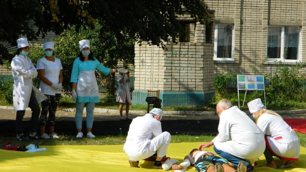 В Каменском спасали «пострадавших» от взрыва газа, фото-3