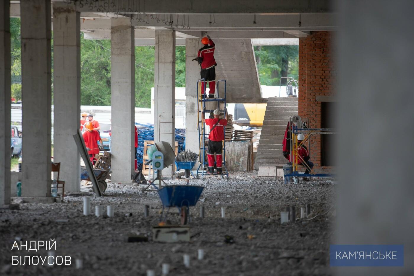 В Каменском строят самый большой в области Дворец Спорта, фото-2