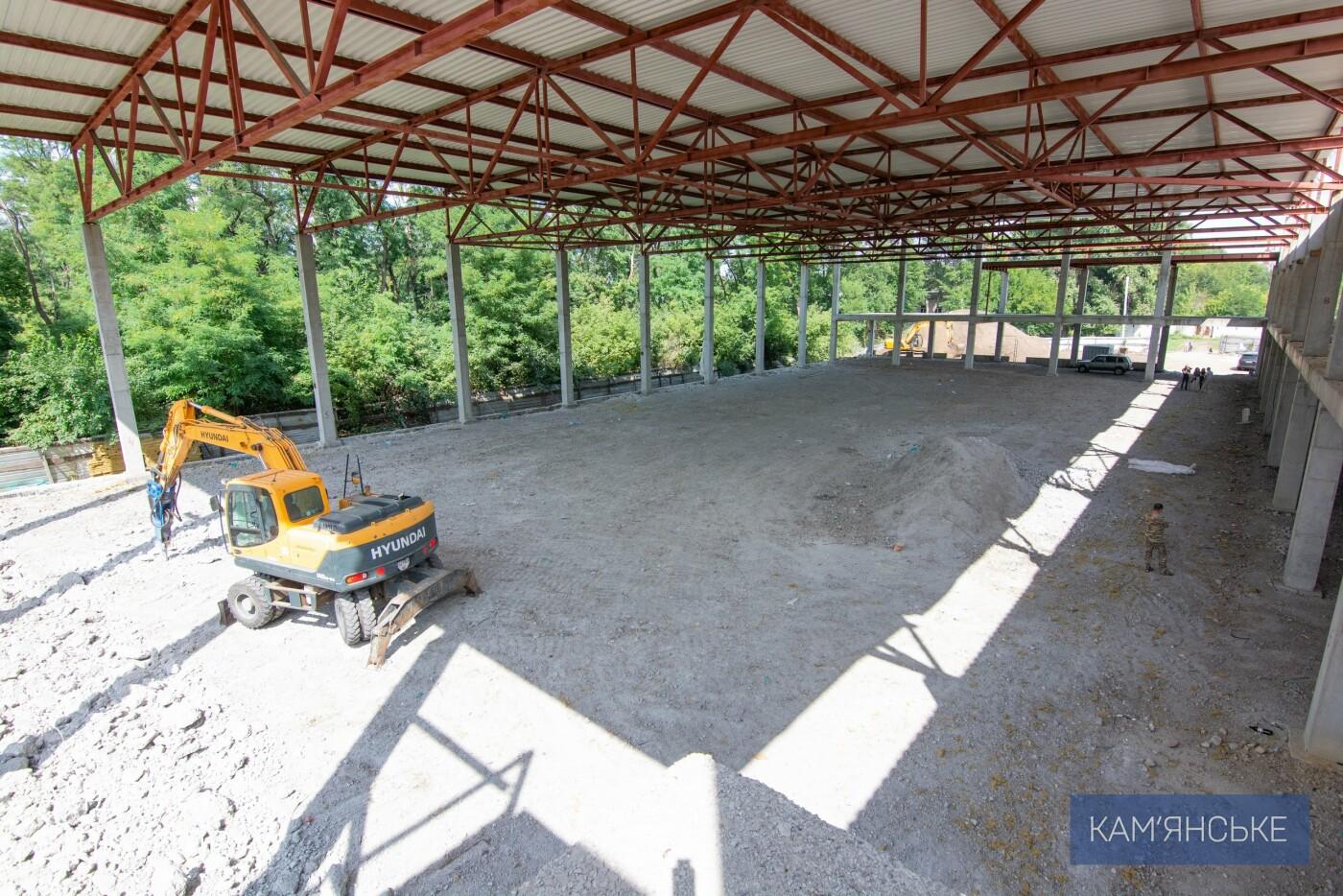 В Каменском строят самый большой в области Дворец Спорта, фото-4