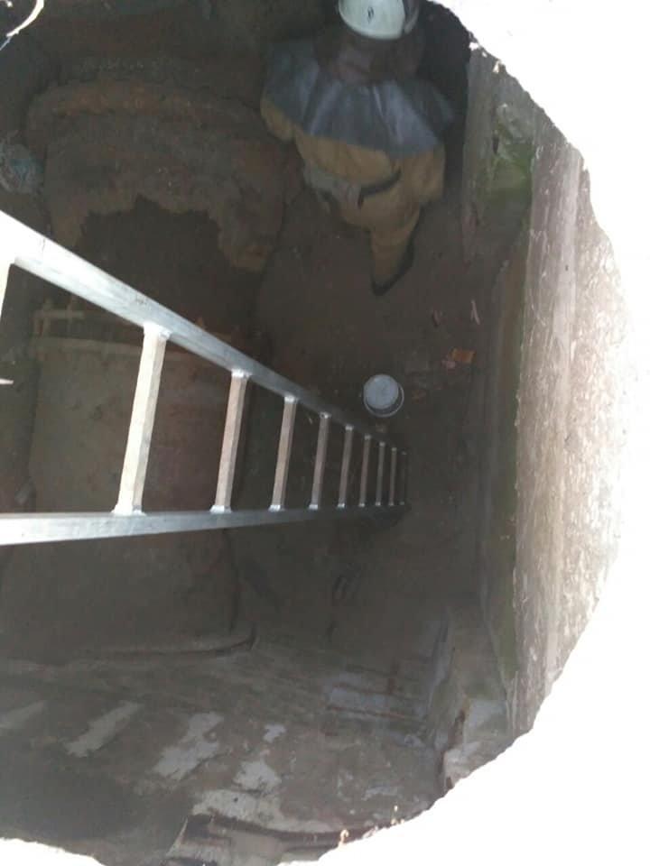 Каменские спасатели достали из колодца собаку, фото-1
