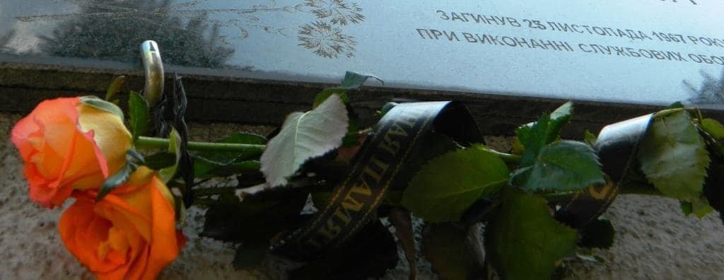 Каменские спасатели почтили память погибших коллег, фото-4