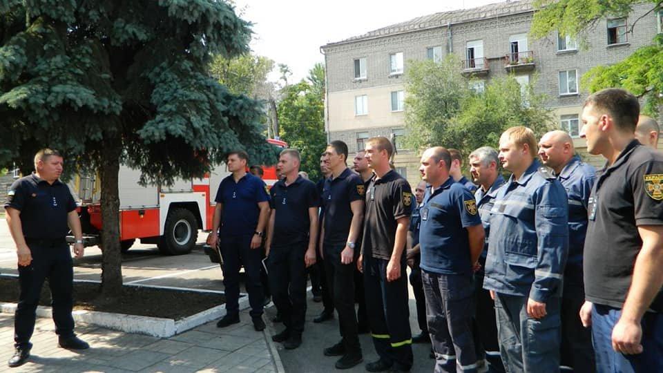 Каменские спасатели почтили память погибших коллег, фото-1