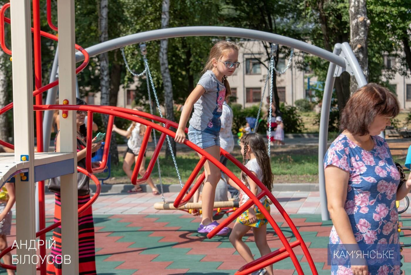В Южном районе Каменского открыли новую зону отдыха, фото-2
