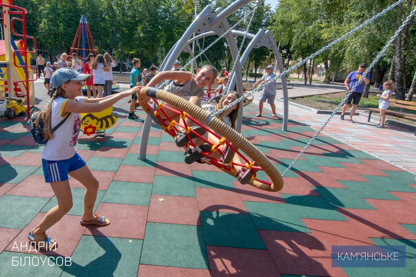В Южном районе Каменского открыли новую зону отдыха, фото-3