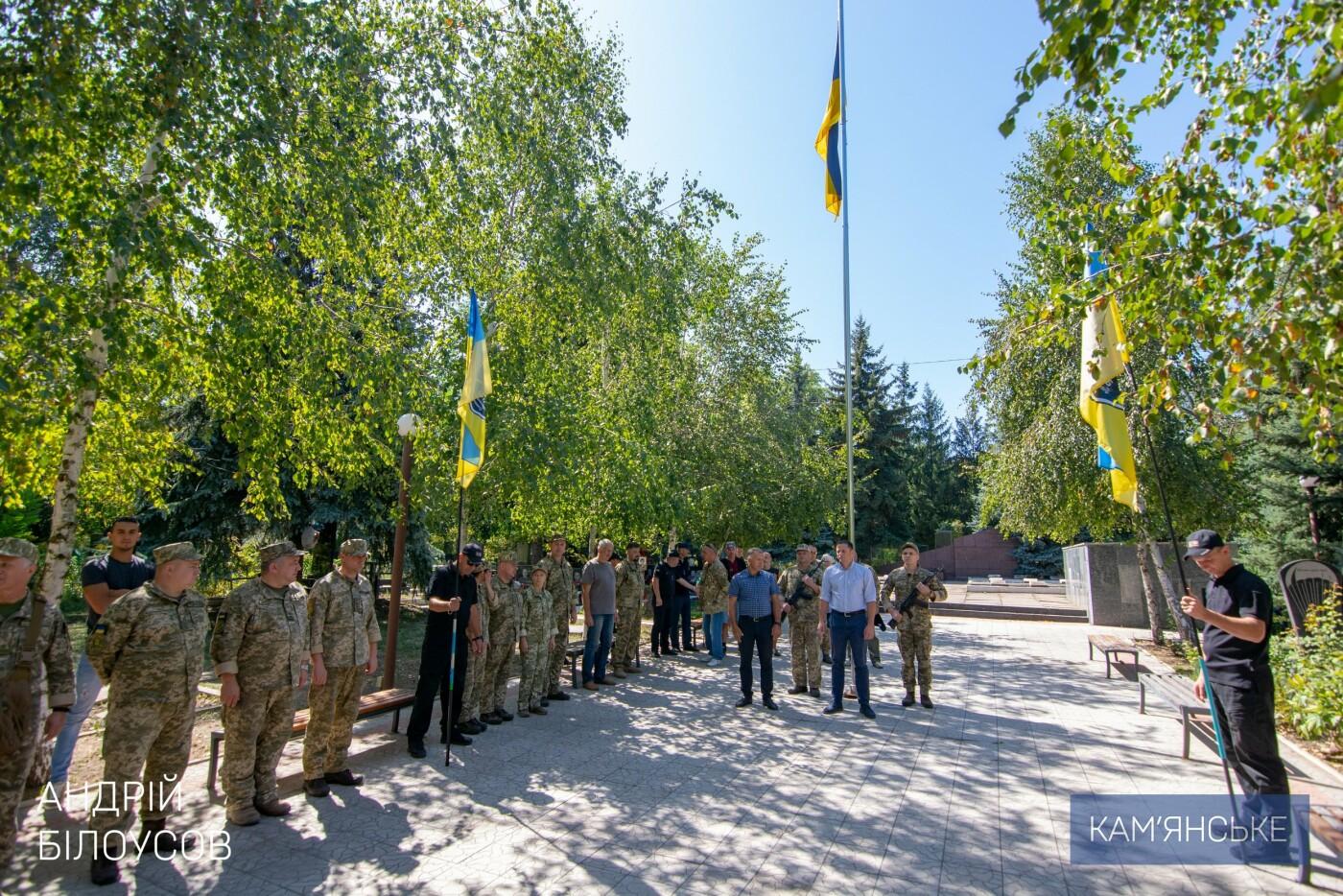 В Каменском почтили память защитников Украины, фото-3