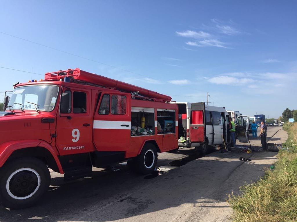 В ДТП пострадали 9 пассажиров и водитель маршрутки «Днепр-Каменское», фото-2