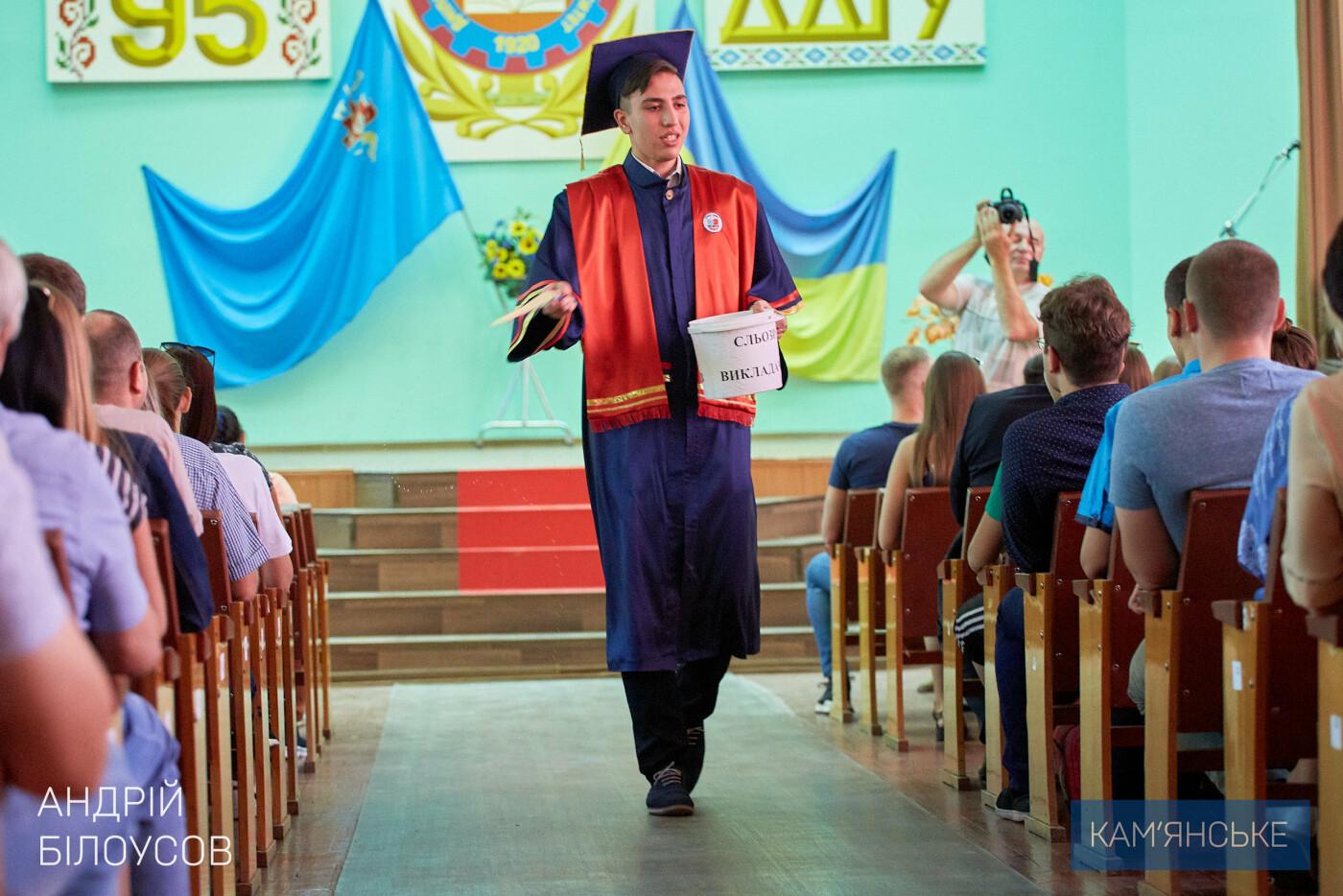 В Каменском ДГТУ абитуриентов посвятили в студенты, фото-4
