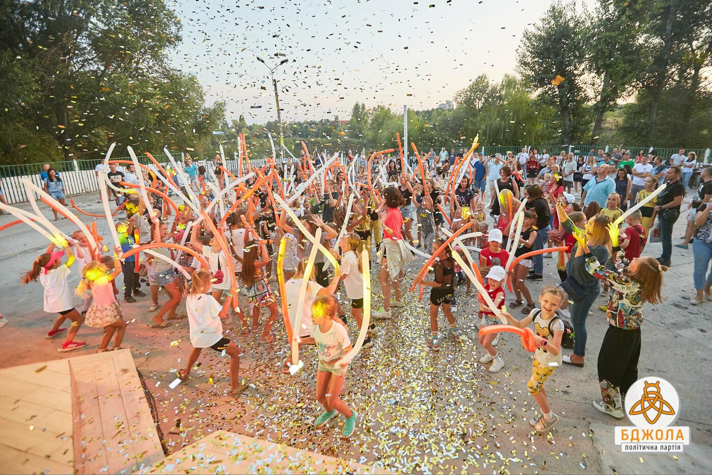 В Центральном и Левобережном парках Каменского прошли мероприятия от партии «Бджола», фото-2
