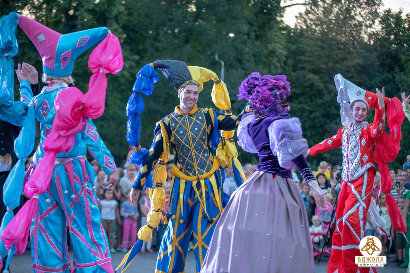 В Центральном и Левобережном парках Каменского прошли мероприятия от партии «Бджола», фото-8