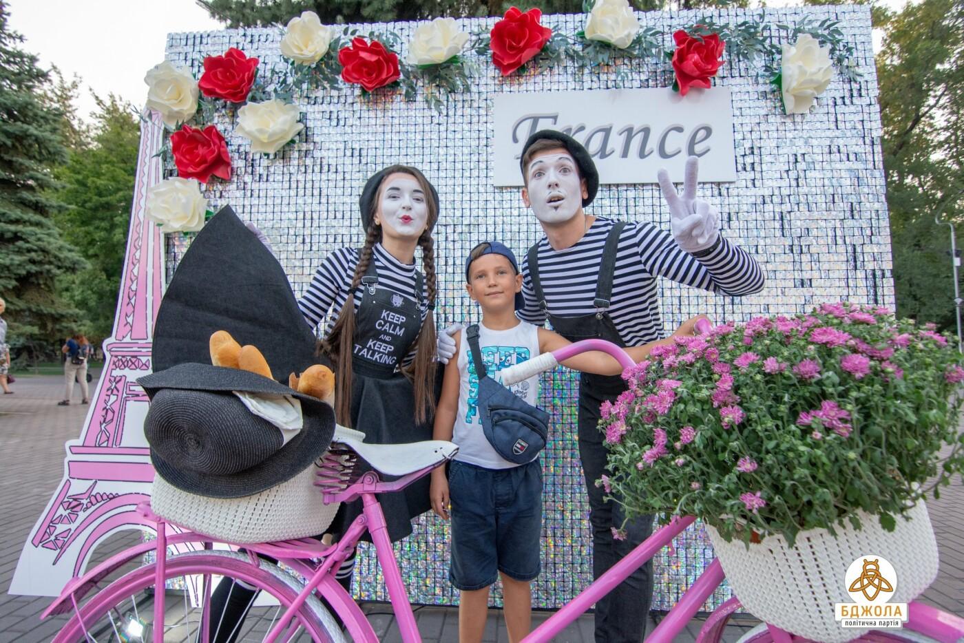 В Центральном и Левобережном парках Каменского прошли мероприятия от партии «Бджола», фото-6