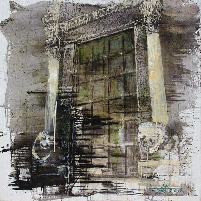 «Жизнь 13-ти дверей»: в музее Каменского открылась выставка Анатолия Менькива, фото-2