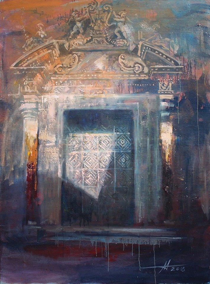 «Жизнь 13-ти дверей»: в музее Каменского открылась выставка Анатолия Менькива, фото-3