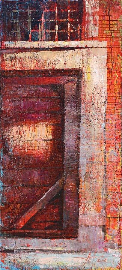 «Жизнь 13-ти дверей»: в музее Каменского открылась выставка Анатолия Менькива, фото-4